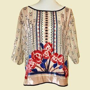 Gorgeous Moulinette Soeurs Floral Blouse - Medium